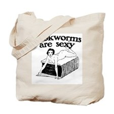 Bookworms Are Sexy Tote Bag