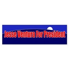 Jesse Ventura For President Bumper Sticker
