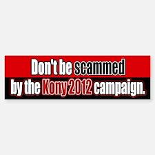 Anti Kony 2012 Fraud Bumper Bumper Stickers