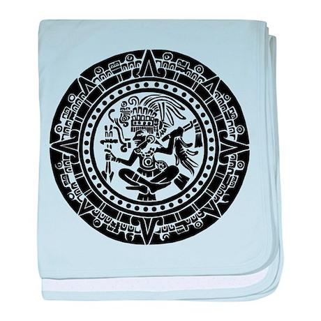 Mayan Calendar - Lights baby blanket
