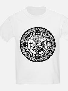 Mayan Calendar - Lights T-Shirt