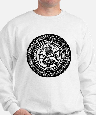 Mayan Calendar - Lights Sweatshirt