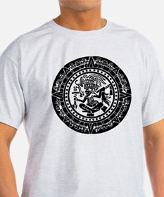 Mayan Calendar - Lights T-Shirt