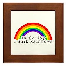 Im So Gay Framed Tile