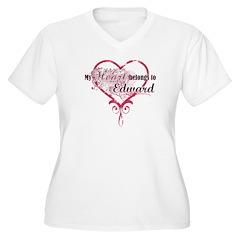 My heart Belongs to Edward T-Shirt