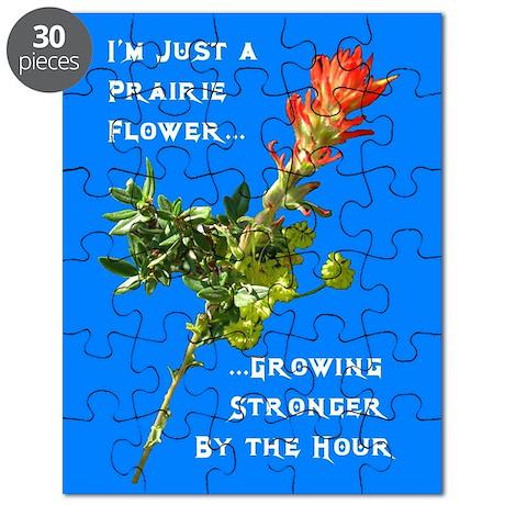Prairie Flower Puzzle