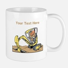 Digger and Text. Mug