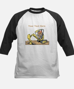 Digger and Text. Tee