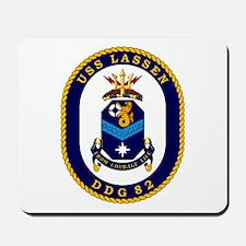USS Lassen DDG 82 Mousepad