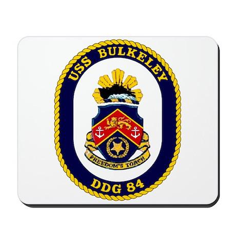 USS Bulkeley DDG 84 Mousepad