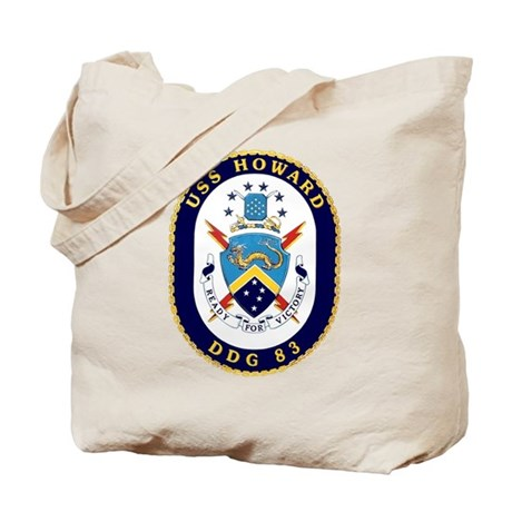 USS Howard DDG 83 Tote Bag