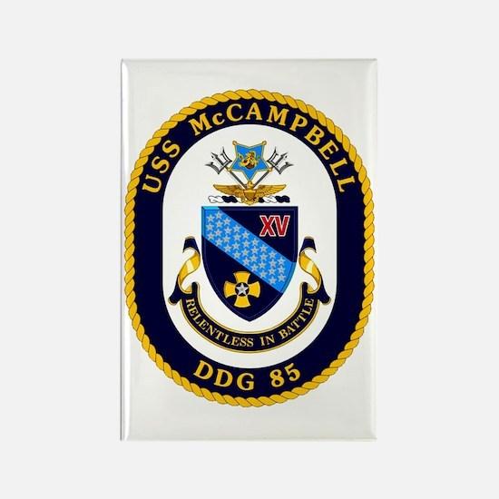 USS McCampbell DDG 85 Rectangle Magnet