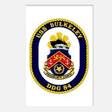 USS Bulkeley DDG 84 Postcards (Package of 8)