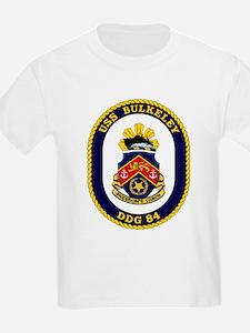 USS Bulkeley DDG 84 Kids T-Shirt