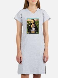 MonaLisa - AmHairless T. Women's Nightshirt