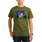 Starry-AnatolianShep 2 Organic Men's T-Shirt (dark