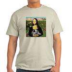 Mona's Aussie Cattle Pup Light T-Shirt