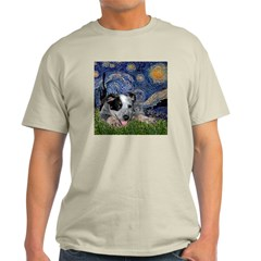 Starry-AussieCattleDogPup Light T-Shirt