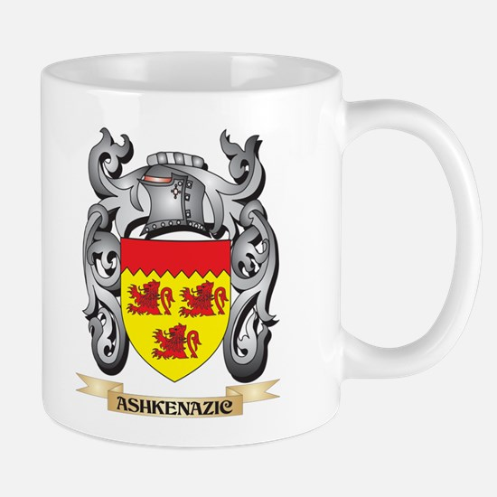 Ashkenazic Family Crest - Ashkenazic Coat of Mugs