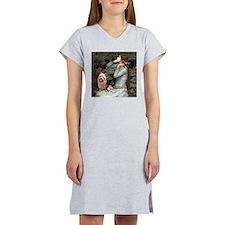 Ophelia-Aussie Terrier Women's Nightshirt