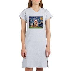 Starry-AussieTerrier Women's Nightshirt