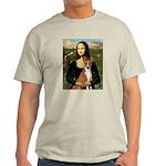 Mona Lisa - Basenji Light T-Shirt