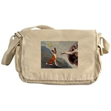 Creation of the Basenji Messenger Bag