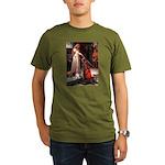 The Accolade & Basset Organic Men's T-Shirt (dark)