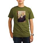 WMom / Beagle (#2) Organic Men's T-Shirt (dark)