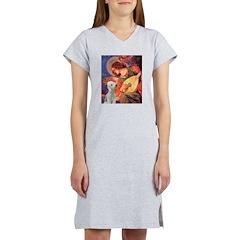 Angel / Bedlington T Women's Nightshirt
