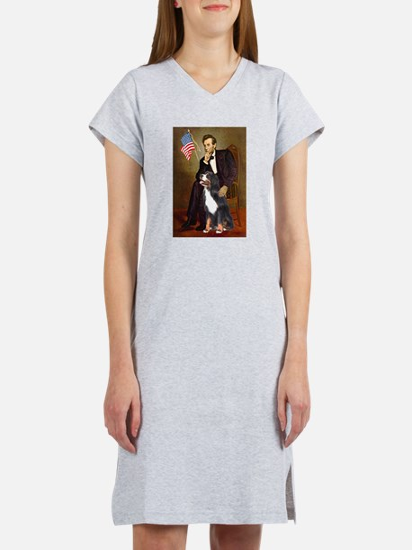 Lincoln & His Bernese Women's Nightshirt
