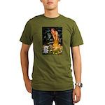 Fairies & Bichon Organic Men's T-Shirt (dark)