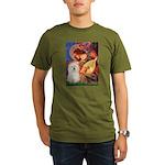 Mandolin Angel & Bolognese Organic Men's T-Shirt (
