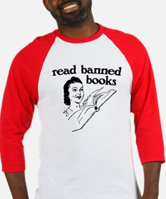 Read Banned Books Baseball Jersey