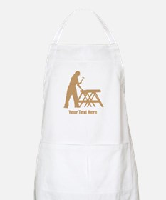 Carpenter. Add Your Text. Apron