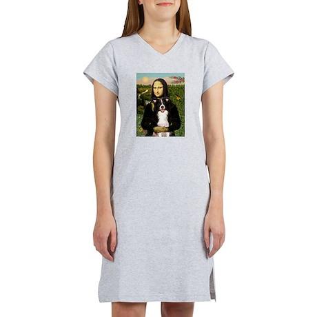 Mona & Border Collie Women's Nightshirt