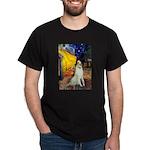 Terrace Cafe & Borzoi Dark T-Shirt