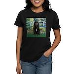 Bridge / Bouvier Women's Dark T-Shirt