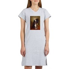 Lincoln & his Boxer Women's Nightshirt