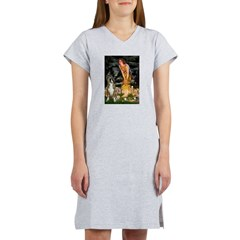 Fairies & Boxer Women's Nightshirt