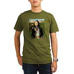 Mona & Boxer Organic Men's T-Shirt (dark)