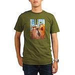 Room with a Boxer Organic Men's T-Shirt (dark)