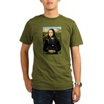 Mona / Briard Organic Men's T-Shirt (dark)