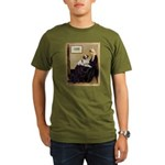 Whistler's /Brittany S Organic Men's T-Shirt (dark