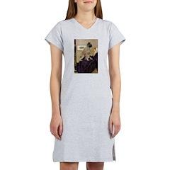 Whistler's / Bullmastiff Women's Nightshirt