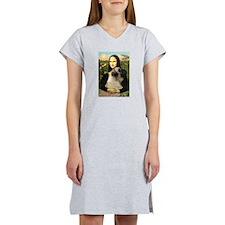 Mona /Bullmastiff Women's Nightshirt