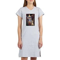 Ophelia / Bull Ter Women's Nightshirt