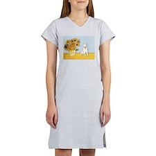 Sunflowers / Bully #4 Women's Nightshirt