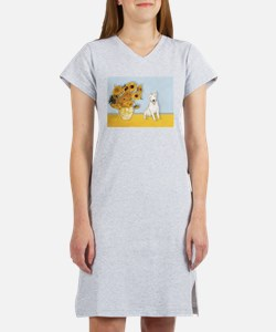 Sunflowers / Bully #4 Women's Nightshirt