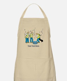 Dancing at Work. Your Text. Apron